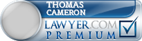 Thomas Dugald Cameron  Lawyer Badge