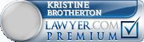 Kristine Renee Brotherton  Lawyer Badge