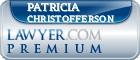 Patricia Christofferson  Lawyer Badge