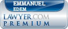 Emmanuel E. Edem  Lawyer Badge