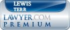 Lewis J. Terr  Lawyer Badge