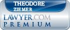 Theodore Charles Ziemer  Lawyer Badge