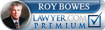 Roy M Bowes  Lawyer Badge