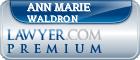 Ann Marie Waldron  Lawyer Badge