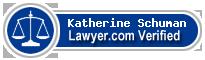 Katherine Karen Schuman  Lawyer Badge