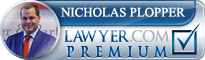 Nicholas Edwards Plopper  Lawyer Badge