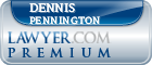 Dennis Pennington  Lawyer Badge