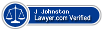 J Troy Johnston  Lawyer Badge