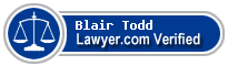Blair Allen Todd  Lawyer Badge