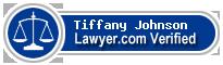 Tiffany Gayle Johnson  Lawyer Badge