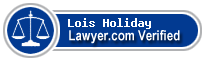 Lois Ann Holiday  Lawyer Badge