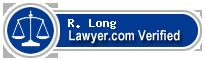 R. Jeffrey Long  Lawyer Badge