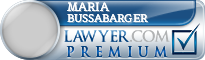 Maria Suzanne Bussabarger  Lawyer Badge