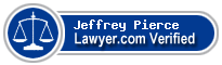 Jeffrey Grant Pierce  Lawyer Badge