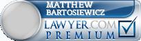 Matthew D. Bartosiewicz  Lawyer Badge