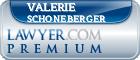 Valerie Anne Schoneberger  Lawyer Badge