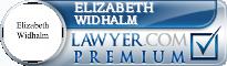 Elizabeth Allums Widhalm  Lawyer Badge