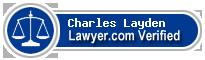 Charles Max Layden  Lawyer Badge