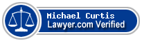 Michael F. Curtis  Lawyer Badge
