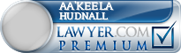 Aa'Keela Lakristian S Hudnall  Lawyer Badge