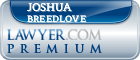 Joshua Jeremia Breedlove  Lawyer Badge