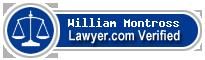 William Scott Montross  Lawyer Badge