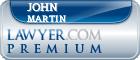 John Prince Martin  Lawyer Badge