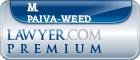 M. Teresa Paiva-Weed  Lawyer Badge