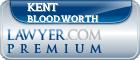 Kent Maxwell Bloodworth  Lawyer Badge