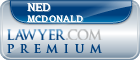 Ned Mcdonald  Lawyer Badge