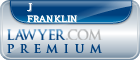 J Mark Franklin  Lawyer Badge