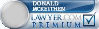Donald D Mckeithen  Lawyer Badge