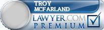 Troy A Mcfarland  Lawyer Badge