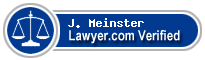 J. Barry Meinster  Lawyer Badge