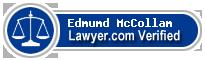 Edmumd McCollam  Lawyer Badge
