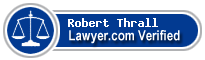 Robert A Thrall  Lawyer Badge