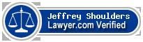 Jeffrey Thomas Shoulders  Lawyer Badge