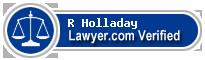 R Lawson Holladay  Lawyer Badge