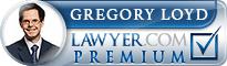 Gregory Stuart Loyd  Lawyer Badge