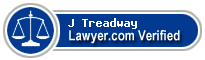 J Keith Treadway  Lawyer Badge