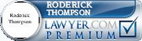 Roderick Thompson  Lawyer Badge