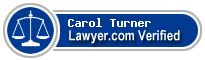 Carol Burke Turner  Lawyer Badge