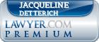 Jacqueline Haydock Detterich  Lawyer Badge