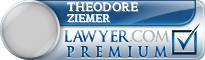 Theodore Charles Ziemer  Lawyer Badge