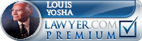 Louis Buddy Yosha  Lawyer Badge