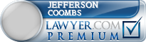 Jefferson Boone Coombs  Lawyer Badge
