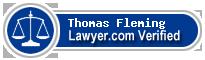 Thomas Luke Fleming  Lawyer Badge