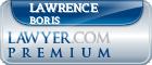 Lawrence Boris  Lawyer Badge