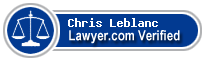 Chris James Leblanc  Lawyer Badge