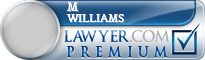M Binford Williams  Lawyer Badge
